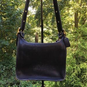 Vintage Coach 9966 Leather Shoulder Bag USA